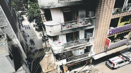 Sunlight colony explosion: Woman who jumped from second floor balcony to escape firedies