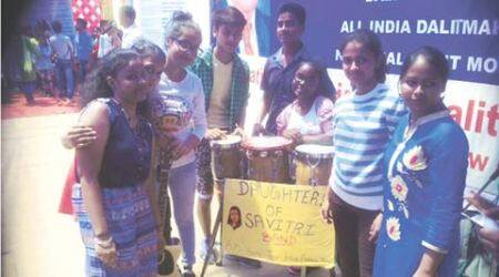 india dalit, dalit musicians, dalit artists, dalit voices, dalits, dalit band, daughters of savitri, dalit girls band, india news