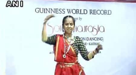 Varanasi Kathak dancer breaks worldrecord