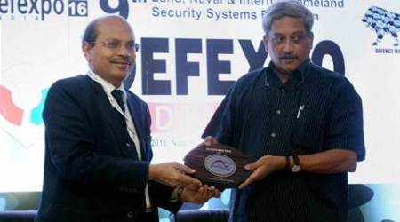 defence expo, defexpo, defence expo 2016, defexpo 2016, manohar parrikar, parrikar, defence event, goa defence expo, india news