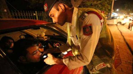 Delhi: 630 fined for drunk-driving over past two days