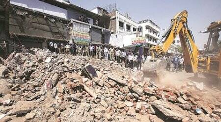 Gujarat High Court, AMC, anti encroachment, nikol area, aniti encroachment in nikol area, nikol area gujarat, demolition, people killed in demolition, indian express ahmedabad