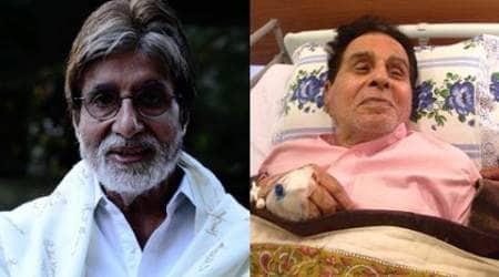 Saira Banu sends Dilip Kumar's picture to AmitabhBachchan