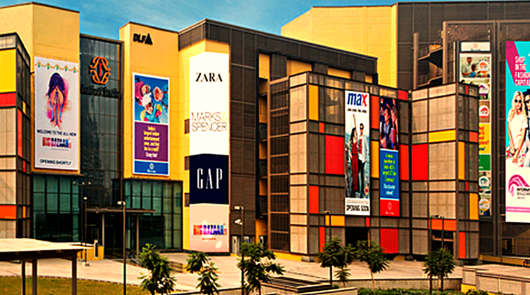 Malls Within Malls DLF Mall Of India Officially Opens Its Doors The Indian Express