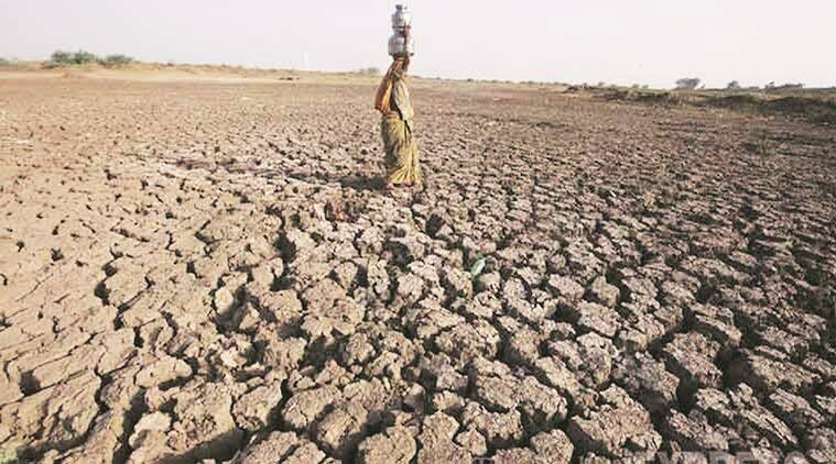 drought, drought situation, drought-hit states, Lok Sabha, consumer food inflation, consumers, food inflation, MGNREGA, indian express editorials