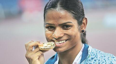 At end of long journey, Dutee Chand's 100-m record  burst