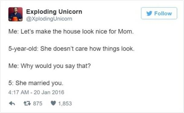 funniest dad on internet, exploding unicorn, twitter parenting, parenting tips on Twitter, indian express, indian express news