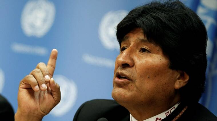 Bolivia President, Evo Morales, Morales, Morales fourth term, Bolivian President fourth term, Bolivia elections, Bolivia news, world news, latest news, indian express
