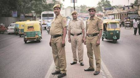 Odd-Even phase II: Ex-servicemen turn law enforcers, help flag down errant motorists