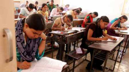 Gujarat Secondary and Higher Secondary Education Board, board examination, cheating in board examination, CCTV, indian express ahmedabad
