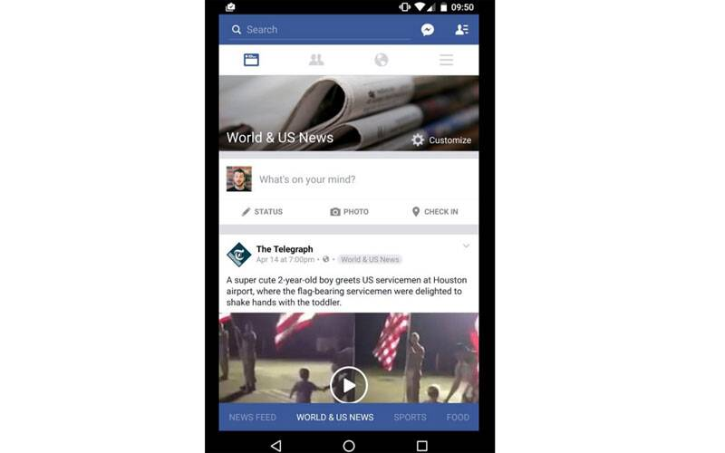 Facebook, Facebook News Feed, News Feed, News Feed change, News section, Facebook News Feed redesign, Facebook new features, News on Facebook, technology, technology news