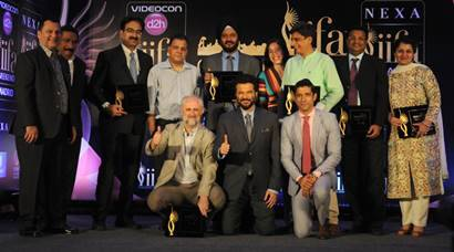 Farhan Akhtar, Anil Kapoor in New Delhi for IIFA announcement