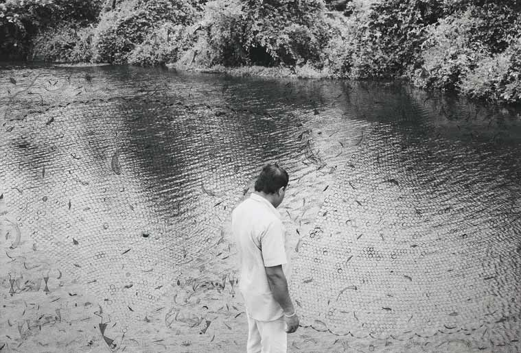River. From the series 'Fields of Sight', 2014/2016 (Photo credit: Gauri Gill and Rajesh Vangad)