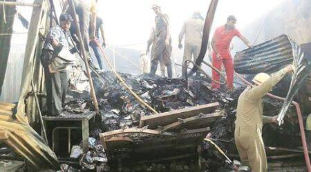 Fire triggers explosion in outer Delhi scrap godown, injures 30