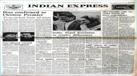 indian express, indian express forty years ago, indian express 1976, Communist Party of China, Indira On Inflation, indian express newspaper