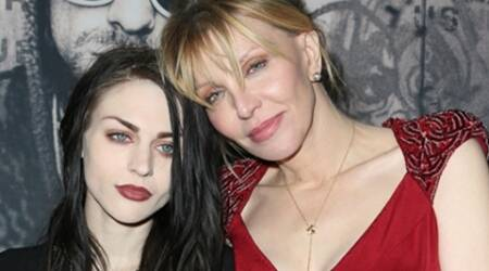 Frances Bean Cobain on 'great terms' with mother Courtney Love