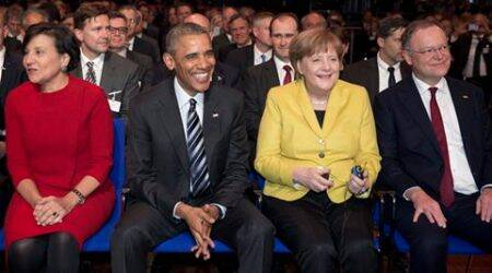 Barack Obama, US President, US president Barack Obama, Obama, US-Europe trade deal, German Chancellor Angela Merkel, Angela Merkel, Francois Hollande, Hollande, David Cameron, Cameron, world news