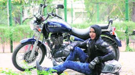 On road safety campaign, Goa girl riding solo lands up in city