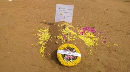 In Kerala, students prepare 'grave' for Principal as 'retirement gift'