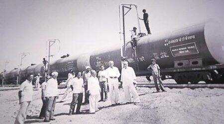 water train, india water trains, rajkot water train, rajkot water crisis, water crisis in rajkot, gujarat water train, India's first water train, India news