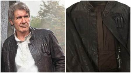 Harrison Ford Han Solo jacket sells for USD 1,91,000