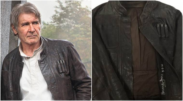 Harrison Ford, Han Solo jacket, Harrison Ford-Han Solo jacket, Harrison Ford-Han Solo jacket news, Harrison Ford, Harrison Ford news, Harrison Ford latest news, Harrison Ford movies, Harrison Ford upcoming movie, Entertainment news