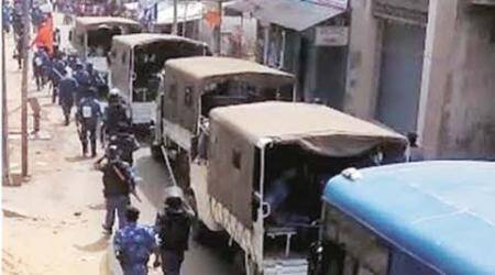 Ram Navami violence spreads in Jharkhand, curfew in Hazaribagh