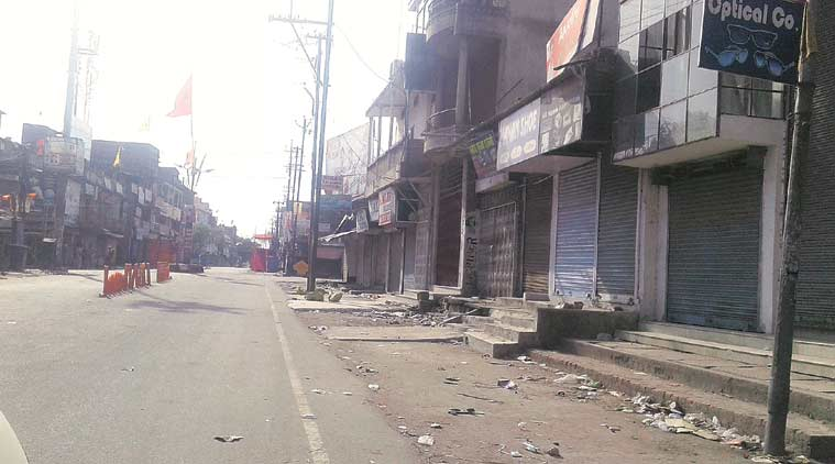 Hazaribagh, Hazaribagh Curfew, jharkhand curfew, Jharkhand Hazaribagh, Ram Navami, Ram Navami festival, jharkhand Ram Navami festival, Ram Navami procession, Ram Navami objectionable slogans, objectionable slogans, jharkhand news, india news