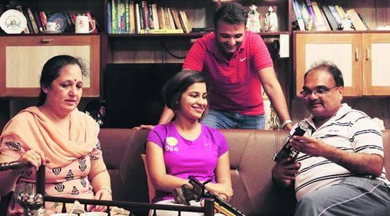 Family of shooters look to Heena Sidhu to bring Olympic medal
