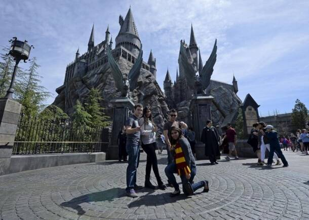 A peek into The Wizarding World of Harry Potter: There's Hogwarts, Hogsmeade Village, and more