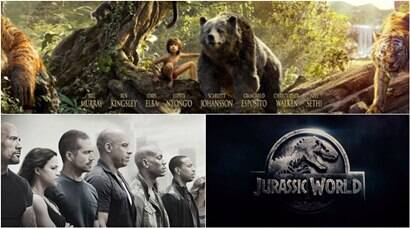 The Jungle Book, Fast and Furious 7, Jurassic World: Hollywood movies that took the Indian box office by storm