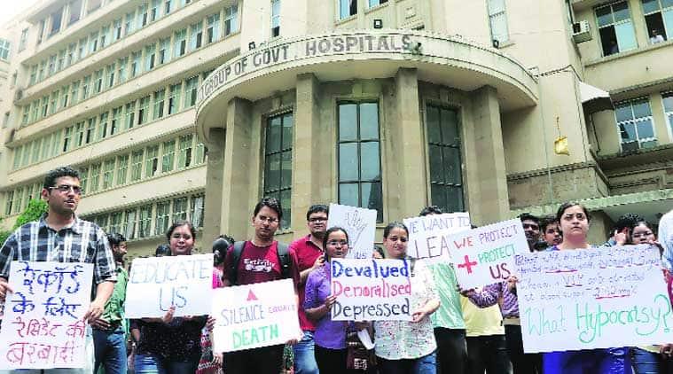 doctor strike, mumbai doctor strike, JJ hospital strike, hospital strike, MARD, mumbai news