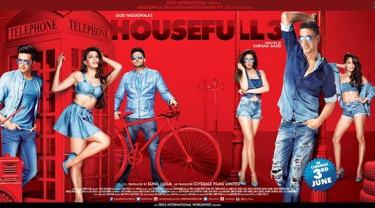 housefull 3, akshay kumar, jacqueline fernandez, abhishek bachchan, riteish deshmukh, nargis fakhri, sajid nadiadwala, lisa ray, akshay kumar housefull 3, entertainment news