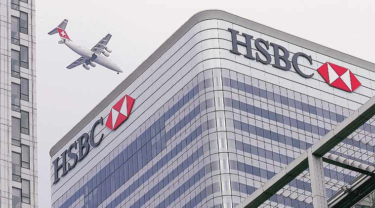 HSBC. GDP, GDP slump, GDP slowdown, hsbc, gdp india, india gdp, business news, indian express, india news