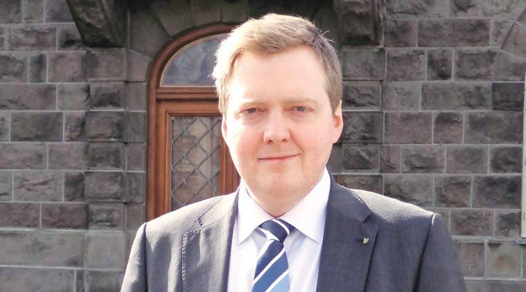 Iceland, Sigmundur David Gunnlaugsson, iceland prime minister, iceland secret tax deal, gunnlaugsson secret tax deal, iceland debt crisis, iceland anti bank policy, Wintris, iceland news, indian express, panama papers, latest news