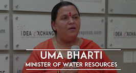 Idea Exchange With Uma Bharti