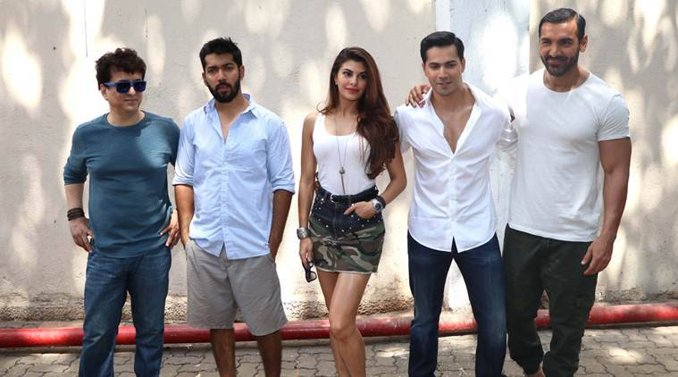 Rohit Dhawan, Varun Dhawan, John Abraham, Dishoom, Varun Dhawan movies, Varun Dhawan upcoming movies, John Abraham upcoming movies, John Abraham movies, Jacqueline Fernandez, Sajid Nadiadwala, Entertainment news