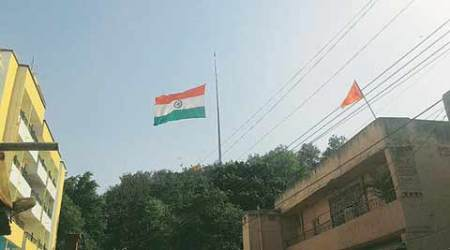 Ranchi: India's largest Tricolour stuck at 'half-mast', Army roped in