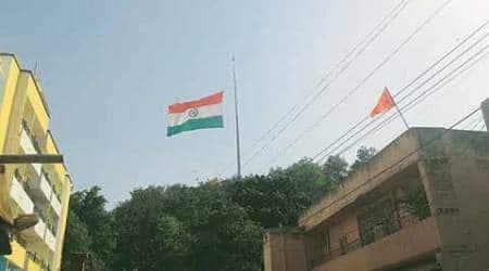 Ranchi: India's largest Tricolour stuck at 'half-mast', Army ropedin