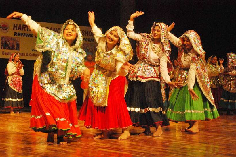 Essay on folk dance of haryana india