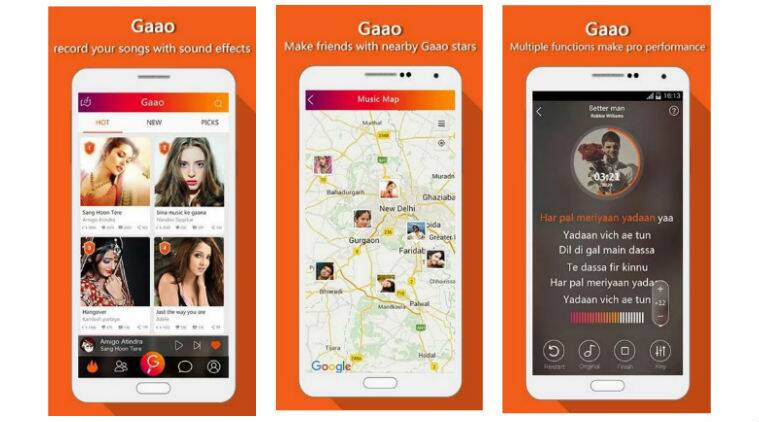 iSing goes desi, launches Gaao for Indian users   Technology