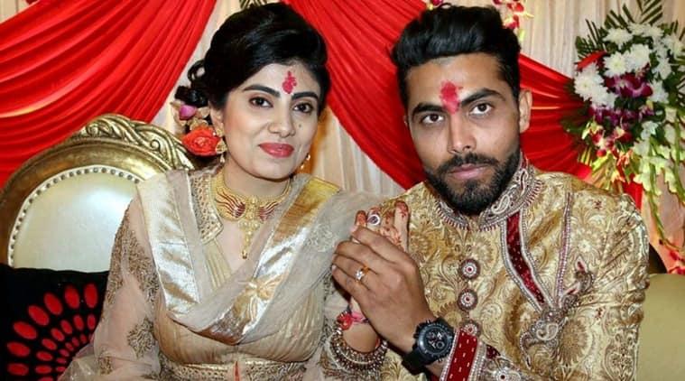 Ravindra Jadeja, Reeva Solanki, Jadeja marriage, Jadeja weds Reeva, Ravindra Jadeja India, sports news, sports, cricket news, Cricket