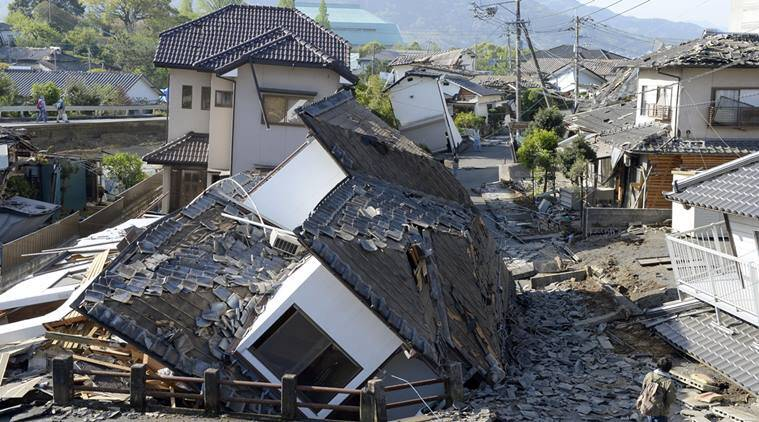 Earthquake hits Tokyo, no tsunami warning, world news, Indian express news