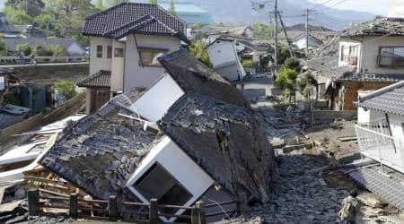 Earthquake hits Tokyo, no tsunami warning, world news, Indian express news