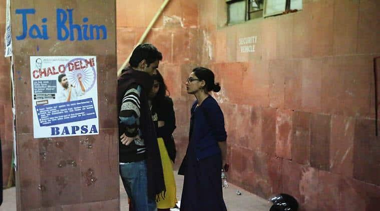 jawaharlal nehru university, hyderabad central university, jnu row, Dalit student groups, Left student parties, aisa, sfi, bapsa, rohith vemula suicide, kanhaiya kumar, umar khalid, b r ambedkar, ambedkar society in colleges, iit bombay, attack on dalit students, dalit student protest, jnu sedition case, india news, education news, latest news