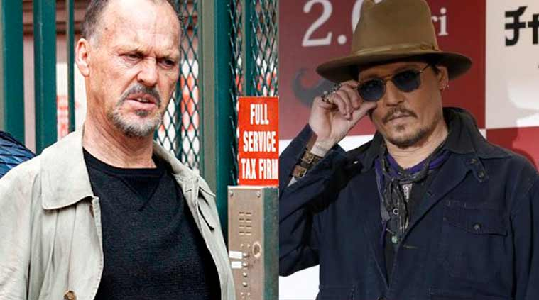 Michael Keaton, Johnny Depp