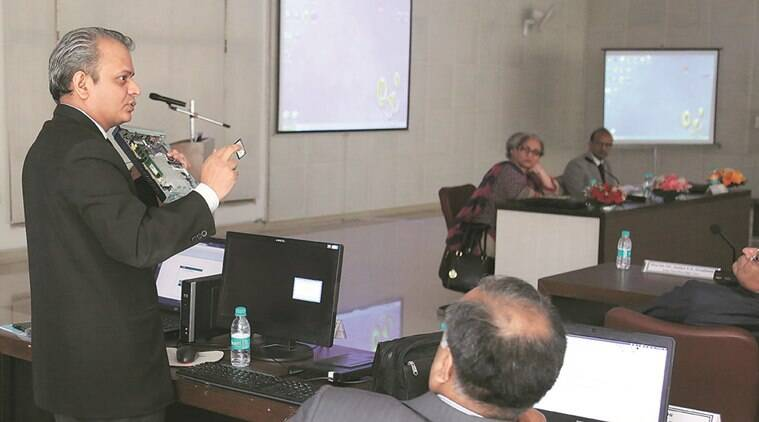 Delegates during ' Regional Discussion Programme' Regarding the E-Court Project during programme organised at Chandigarh Judicial Academy in Sector 43 of Chandigarh on Saturday, April 02 2016. Express Photo by Kamleshwar Singh
