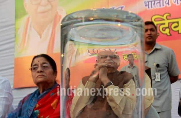 Kamla Advani, LK Advani