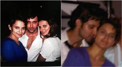 Hrithik, Kangana's fresh pictures partying with then wife Sussanne
