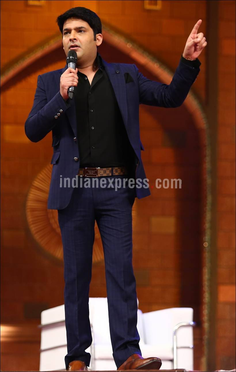 Shah Rukh Khan shoots for Kapil Sharma's new show 'The Kapil